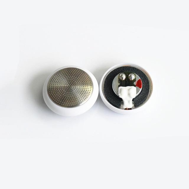 Altavoz plano de alta Fildelity de 14,8mm y 64 ohm, unidad controladora de auriculares, extremo de alto transparente equilibrado, 2 unids/lote