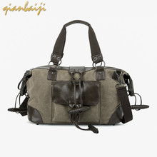 Man Travelling Duffle Luggage Big Duffel Bag Organizer Male Outdoors Men Travel Bags Canvas Backpack Capacity Student Shoulder