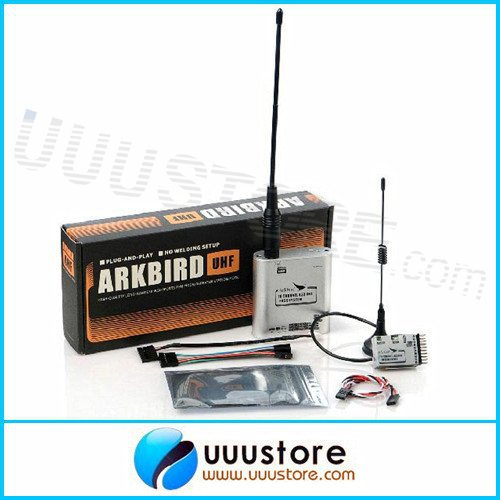 Arkbird 433MHz 10 Channels FHSS UHF FPV Transmitter Module / Repeater Station with Receiver Long Range RC System