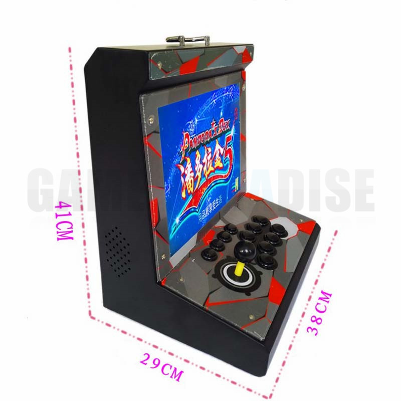 metal Case Family Mini Arcade game console 1 player Arcade Game Machine with 15 inch LCD 960/1388 in 1 games board 3