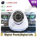800TVL CCTV Câmera de segurança Mini Dome de seguridad CVBS analógico Day & Night Câmera de Vídeo não manequim câmera De Vigilância Por Vídeo