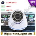 Security Mini Dome 800TVL CCTV Camera de seguridad analog CVBS Video Surveillance Day & Night Video Camera not dummy camera