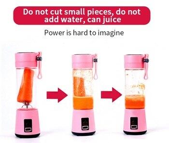 Portable blender usb mixer  electr