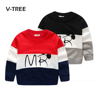 2016 Designer Boys Sweatshirt Hoodies Cotton T Shirt For Boys Cartoon Outwear 2 7years Kids Clothes