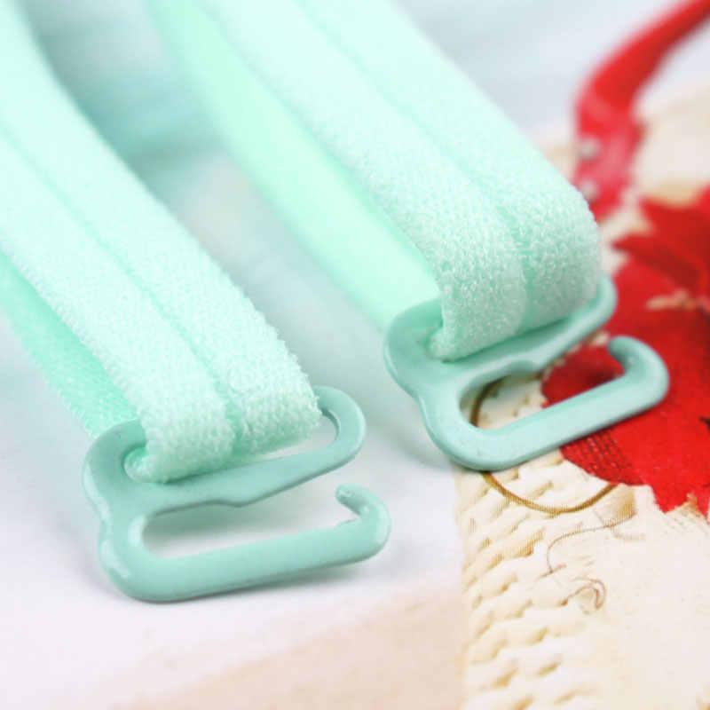 1cm super słodki kawaii paski na ramionach do biustonosza wielokolorowy elastyczny kawaii bielizna sexy wysokiej elestic akcesoria biustonosza piękny