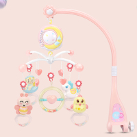 Baby Toys 0 12 Months Infant Rattles Musical Crib Mobile Baby Bed Bell With Music Box Projection Educational Toys For Newborns