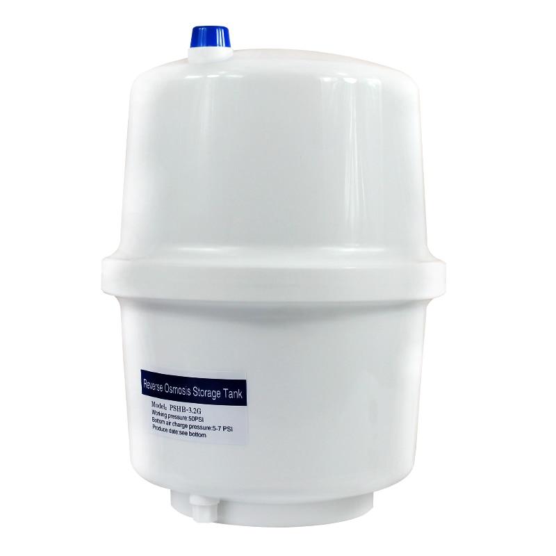 رو تانك 3.2 جالون البلاستيك خزان المياه ل نظام التناضح العكسي منقي مياه جهاز تنقية المياه أجزاء