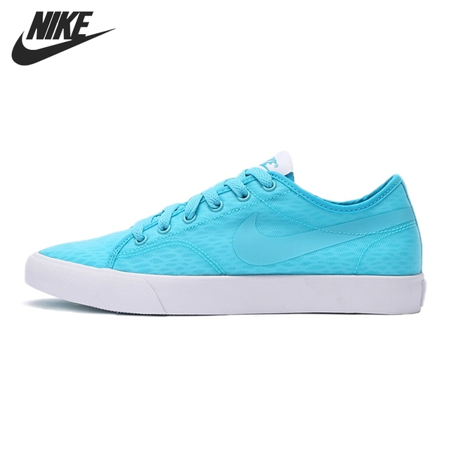 womens Skateboarding Shoes Canvas blue round leaves Sport Sneaker
