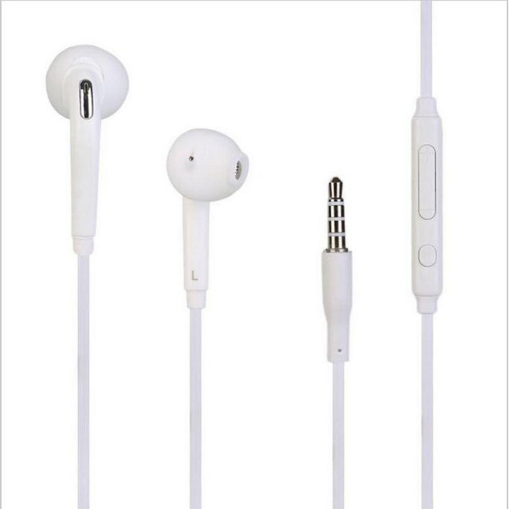 3.5mm Jack Headset Earphone Mic&Remote Volume Control For Samsung Galaxy S7 S6 Edge S5 S4 Note 5 4 3 Handfree Headphone Earbuds