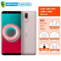 Ulefone Power 3S 6.0 18:9 FHD 4G Smartphone MTK6763 Octa Core Android 7.1 4GB+64GB 16MP 4 Camera 6350mAh Fingerprint Face ID