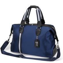 fashion Large Men's Travel Bag Women Waterproof Nylon Hand Luggage Multifunction Duffle Bags business Packing Cubes