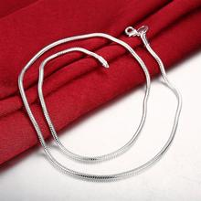 1MM Fashion Viking Snake Chain Necklace Women Personalized Colorful Jewelry Friends Gift Women Clothing Accessories Wholesale