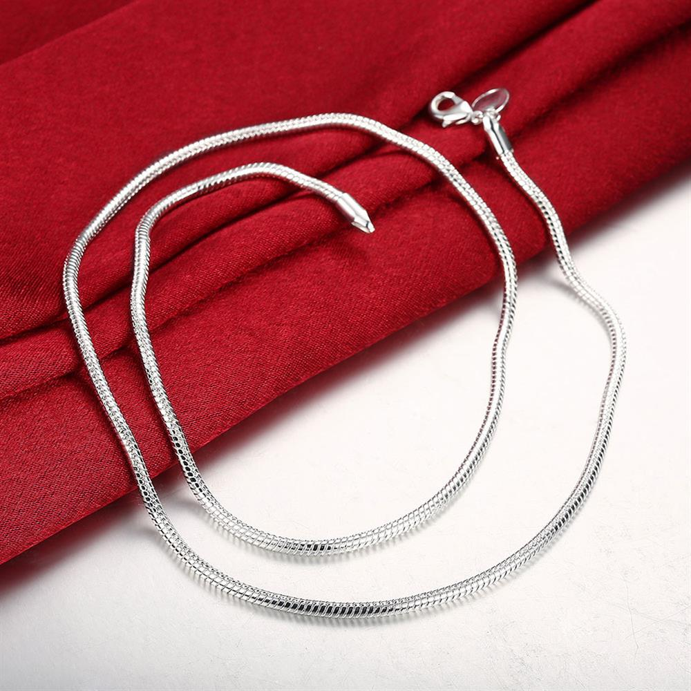 1MM Fashion Viking Snake Chain Necklace font b Women b font Personalized Colorful Jewelry Friends Gift