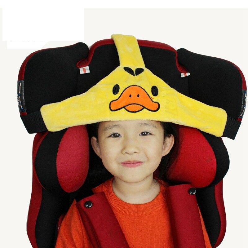 New Baby Fixing Head Band Safety Infant Sleepping Support Holder Pram Stroller Car Safety Seat Adjustable Playpen Holder Belt