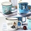 250ml Cartoon Cute Ceramic Moomin Coffee Mug Tea Beer Cup With Handgrip For Home Office School GPD8055