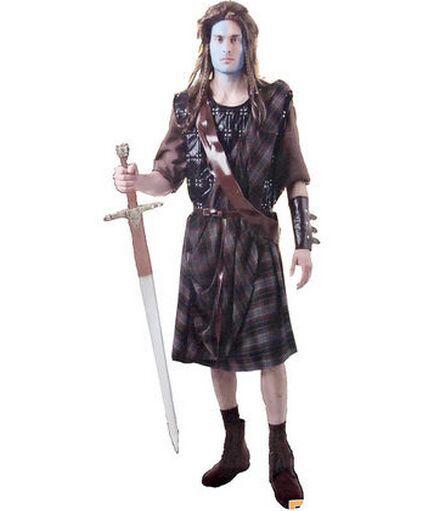 william wallace cosplay braveheart knight warrior halloween warrior rh aliexpress com Braveheart Costume Mel Gibson Braveheart Costume