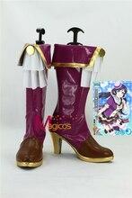 Anime LoveLive! Tojo Nozomi Fruitfredsh Botas Zapatos de Fiesta Cosplay Por Encargo