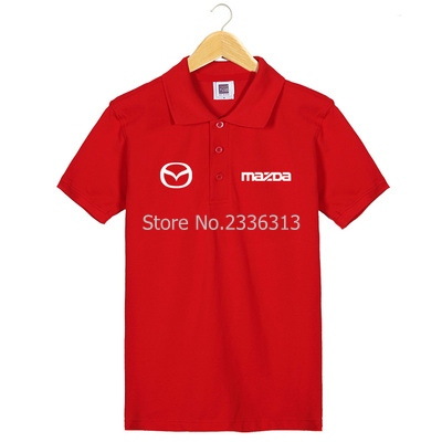 Men And Women Tooling 4s Shop Uniforms Short-sleeved Mazda T-shirt Custom Cotton Car Standard T Shirt T-shirts