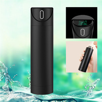 Newly Stainless Steel Water Bottle LED Display Temperature Sensing Cup Drinking Water Remind