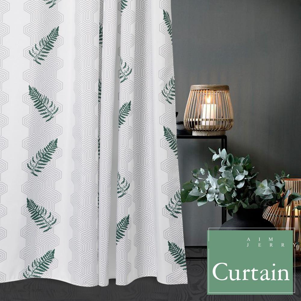 Aimjerry πράσινο φύλλα Custom Κουρτίνα ντους - Οικιακά είδη - Φωτογραφία 2