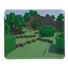 Hot High Quality Stitched Edge Rubber Mouse Pad for Minecraft Gaming Mousepad Non Slip Gamer Anime