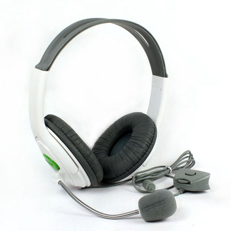New Fashion Sensational Headset Exclusively Designed Gmaing Headphonesf or Micsoft XBox 360 Controller Super Bass 3.5mm  #EB50 ami exclusively for yoox com толстовка