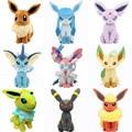 Pikachu Brinquedos De Pelúcia Sentado Umbreon Espeon Eevee Jolteon Vaporeon Flareon Glaceon Leafeon Boneca Crianças Brinquedos Para Crianças