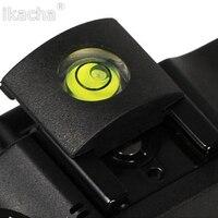 Câmera bolha espírito + sapato quente protetor capa de nível acessórios da câmera universal dslr para canon para nikon alta qualidade|Acessórios de estúdio de foto|Eletrônicos -