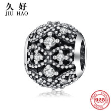 Authentic 925 Sterling Silver Bead Bow Crown hollow out Beads for Jewelry Making fit Pandora Bracelet Necklace Jewelry Hot sale(China)