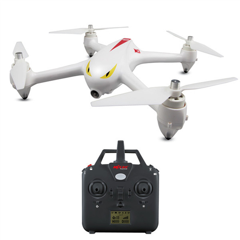 GPS Helicopter MJX B2C B2W RC Brushless font b Drone b font With Camera Altitude Hold
