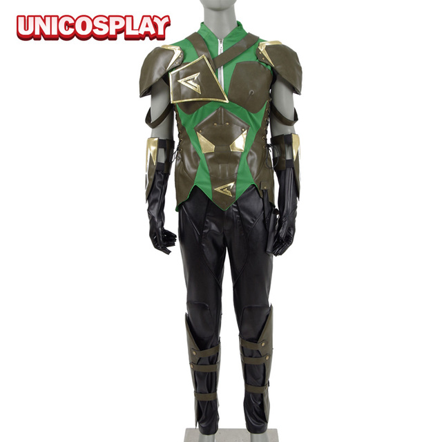 Injustice 2 Green Arrow Cosplay Costumes 2017 Super Men Hero Oliver