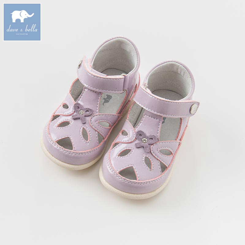 DB7052 Dave Bella Spring Summer Baby Girl Sandal Princess Shoes Brand Shoes