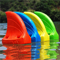Ebuy360 2016 Inflatable Over 30kg 8CM EVA Bionics Swim Shark Fin Kids Floating Teach/Learn to Swim Ring Swim Aids Shark Fin