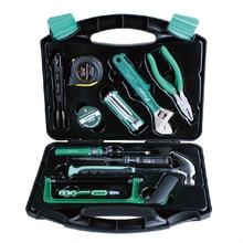 PK-2030 28 шт. Ящик Для Инструмента Tool Kit Главная Оборудование Набор Инструментов Ремонт Набор Инструментов Плоскогубцы Отвертка Ключ Ножницы Набор