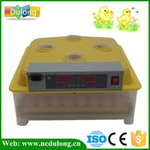 High Quality Automatic Turning Poultry Egg Incubator Fully Mini Egg Incubator Hold 48 Eggs Hatchery Machine