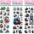 3 unids/lote mixta pegatinas de burbuja de dibujos Thomas el tren niños niños niños Cartoon pegatinas decoración navidad regalo #ST011