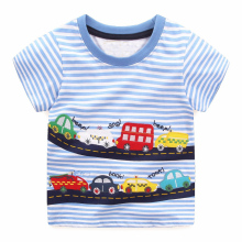 100% Cotton Character Print Baby Boy Shirts