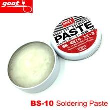 Original Japan GOOT BS-10 Hobby Use Resin Solder Paste NW.10g Weak Acid Welding Flux