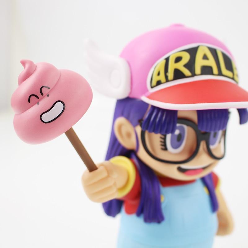 Anime Cartoon Dr Slump Arale con Heces PVC Figura de Acción de Juguete