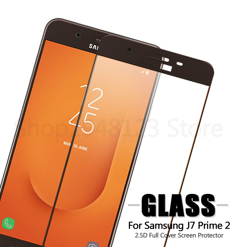 For Tempered Glass Samsung Galaxy J7 Prime 2 2018 J7 Prime2 G611F G611 SM-G611F Screen P ...