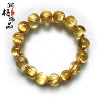 Natural titanium crystal bracelet rutilated bracelet male bracelets crystal