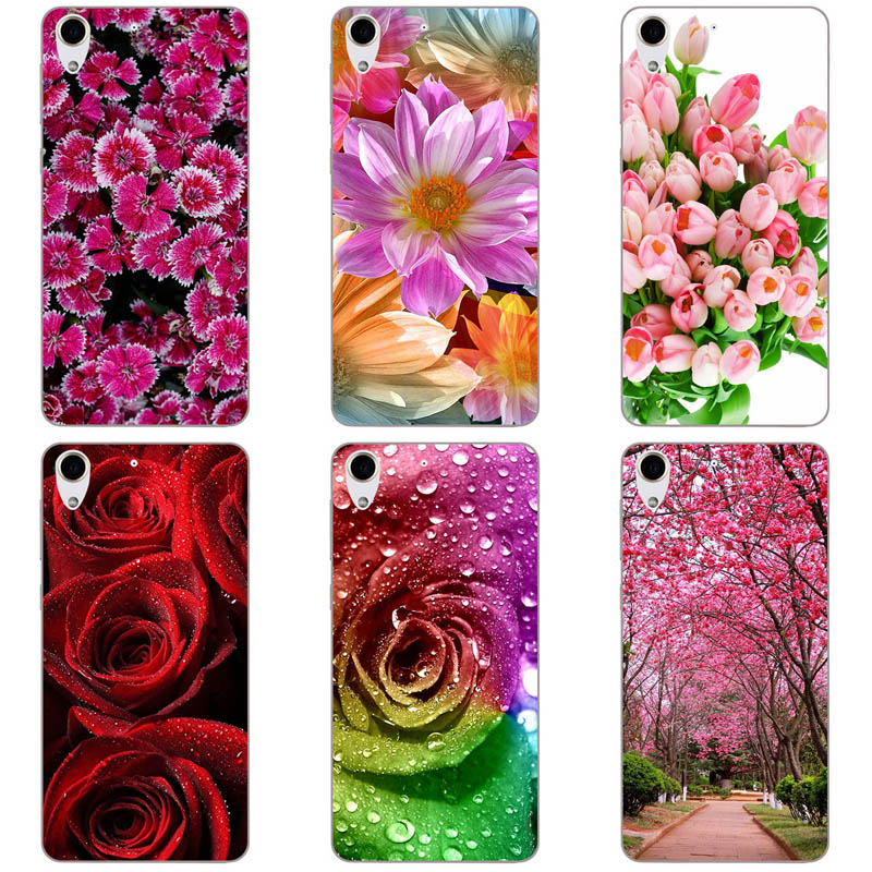 Half-wrapped Case 120 Styles Cool Painting Case Cover For Htc Desire 728 D728 Soft Silicone Phone Case For Htc D 728 Mobile Phone Shell