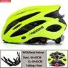 Kingbike capacete de bicicleta ultraleve, capacete de ciclismo para montanha, estrada, mtb, capacetes de luz traseira para homens e mulheres, esportes ao ar livre 29