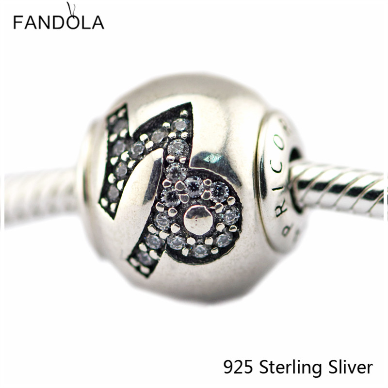 2.5MM Capricorn Star Sign Silver Charms 925 Sterling Silver Fit Bracelet Jewelry DIY Bead for Women Jewelry Making Gift