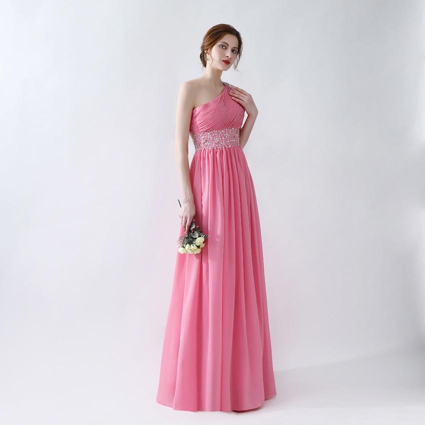 Ungewöhnlich Eine Schulter Spitze Brautjungfer Kleid Bilder ...