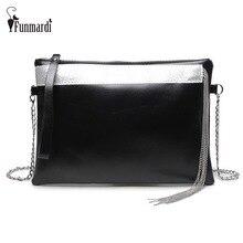 Luxury metal tassel design PU leather Clutch bag vintage fashion women bag star style messenger bag female shoulder bag WLHB1513