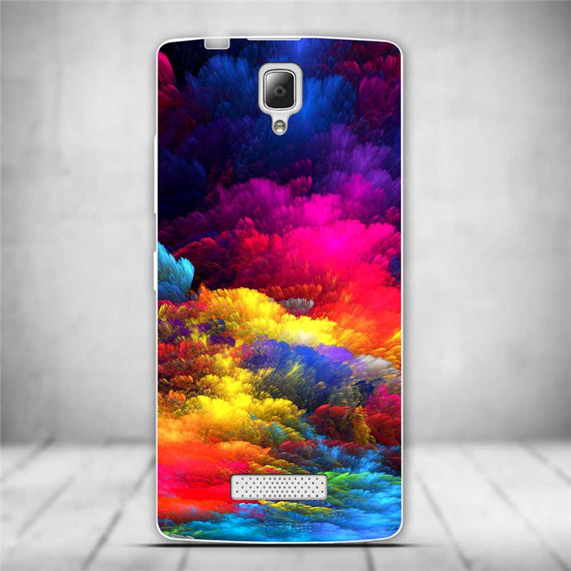 Luksusowe tylna pokrywa miękki tpu case dla lenovo a2010 a 2010 szczupła cienkie silikonowe etui na telefony dla lenovo a2010-a/a 2010 powrót skóry 9