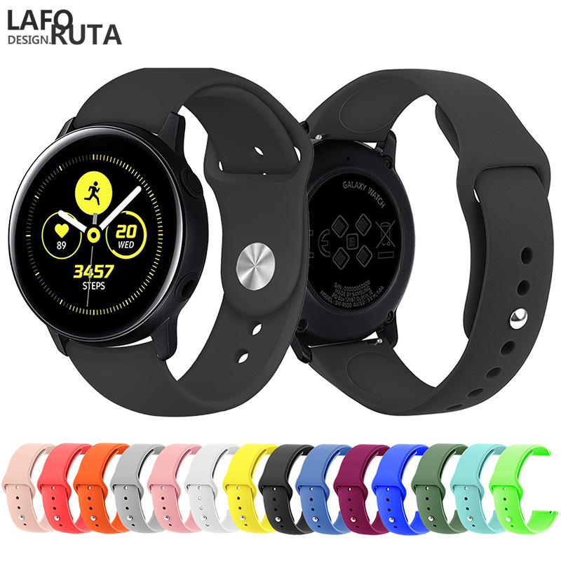 Laforuta Sport Watch Band for Samsung Galaxy Active 42mm Strap Classic S2 20mm Quick Release
