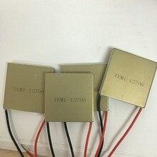 Сверхпроводящего алюминия полупроводниковых охлаждения пластины 40*40 TEM1-12706 12V6A быстрый разница температур холодильного