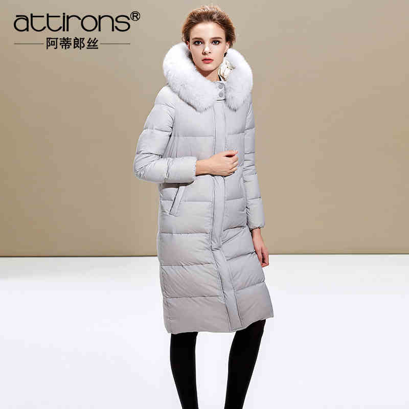 2015 New Hot Winter Thicken Warm Woman Down jacket Coat Parkas Outerwear Hooded Fox Fur collar Luxury High Long Plus Size 3XXXL 2016 new hot winter thicken warm woman cotton padded wadded jacket coat parkas outerwear hooded fur collar long plus size 3xxxl